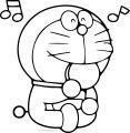 Doraemon Bratz Candy Coloring Page