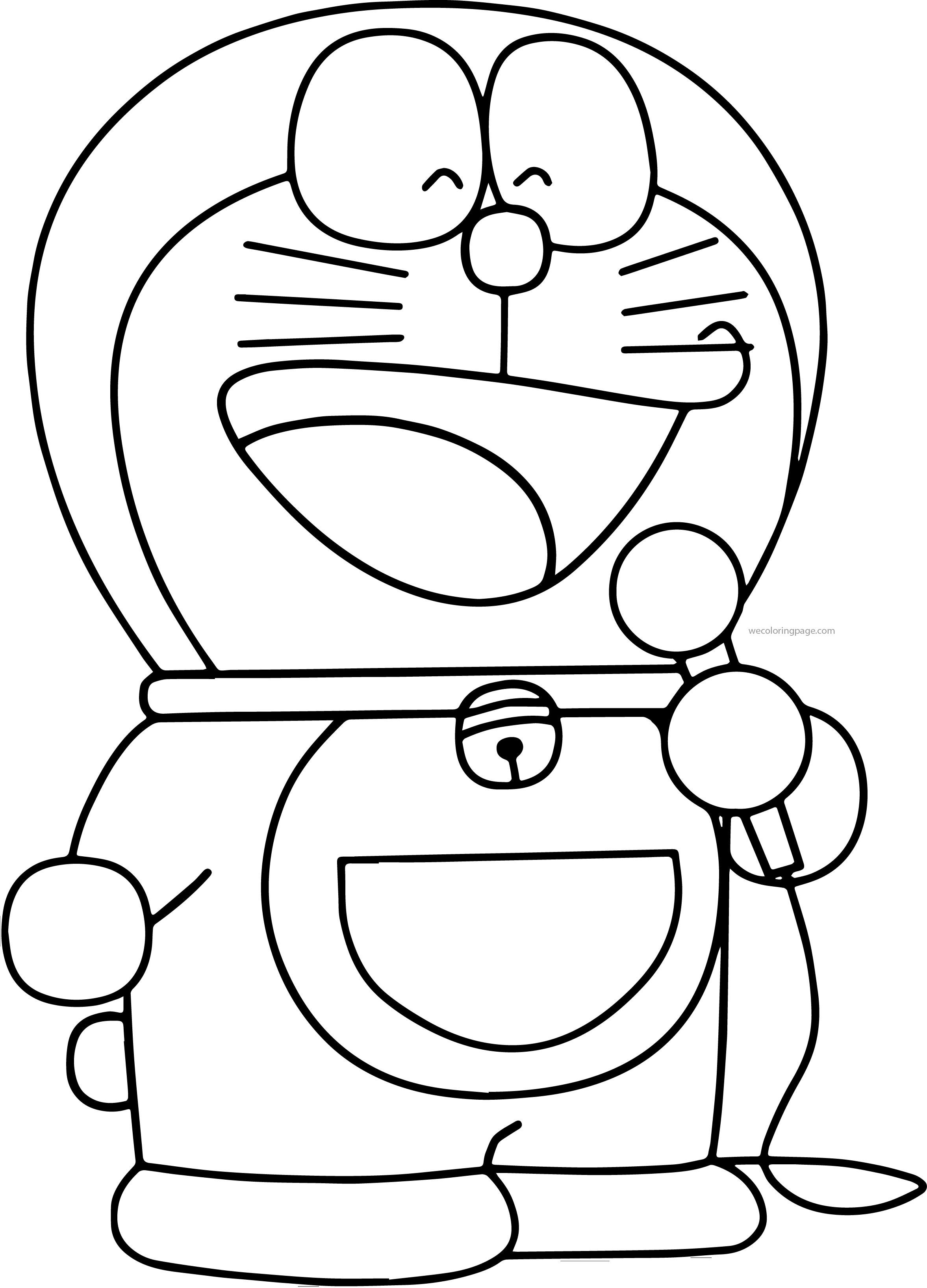 Doraemon Bratz Song Coloring Page