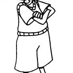 Doug Funnie Alright Coloring Page
