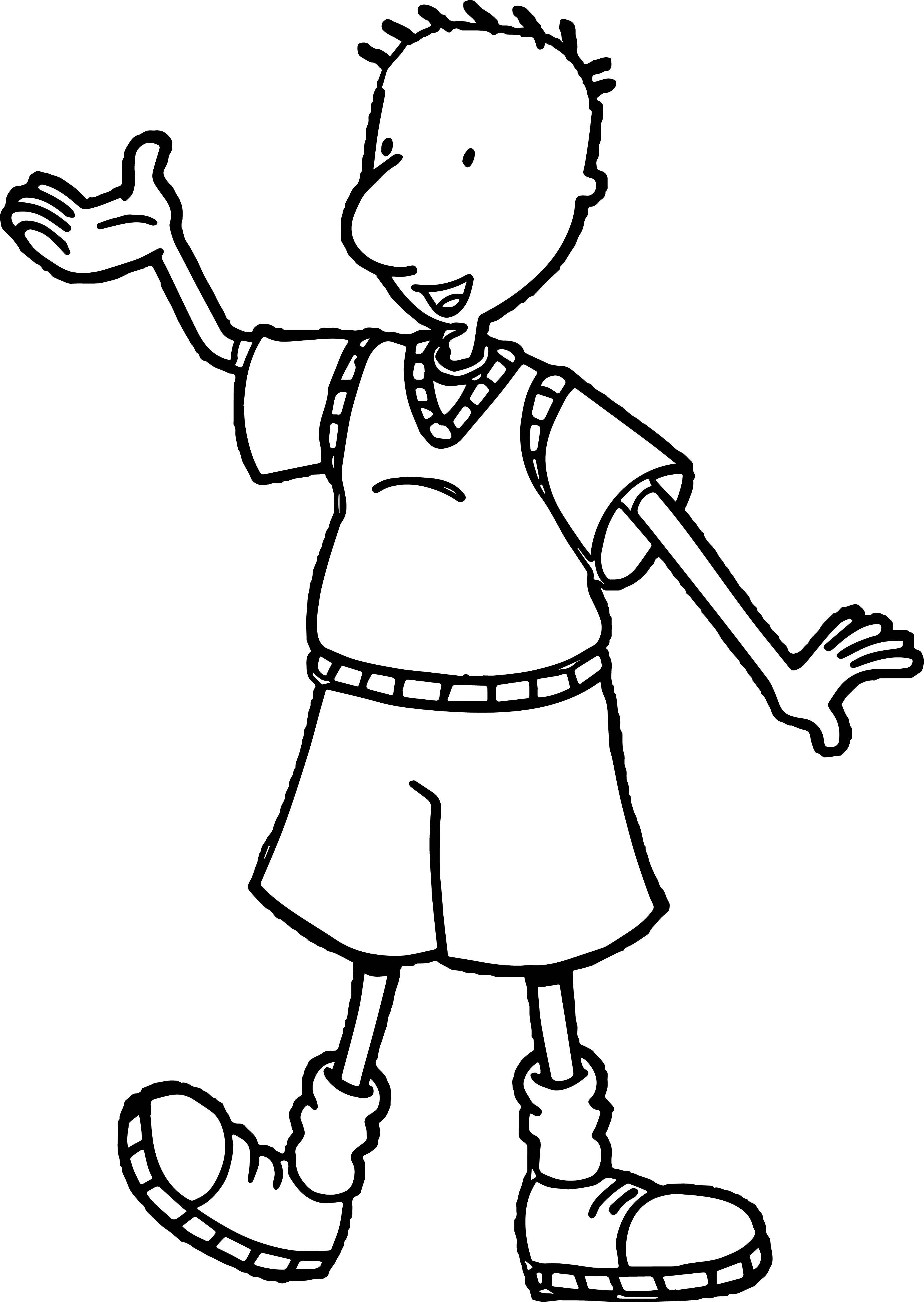Doug Funnie This Coloring Page