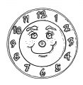 Funny Clock Face Clip Art 1039 Free Printable 86 Cartoonized Free Printable Coloring Page