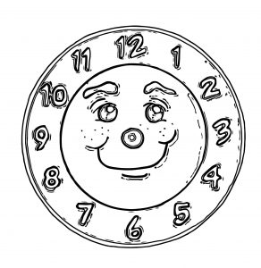 photo regarding Free Printable Smiley Faces Clip Art named wecoloringpage Amusing Clock Experience Clip Artwork 1039 Absolutely free
