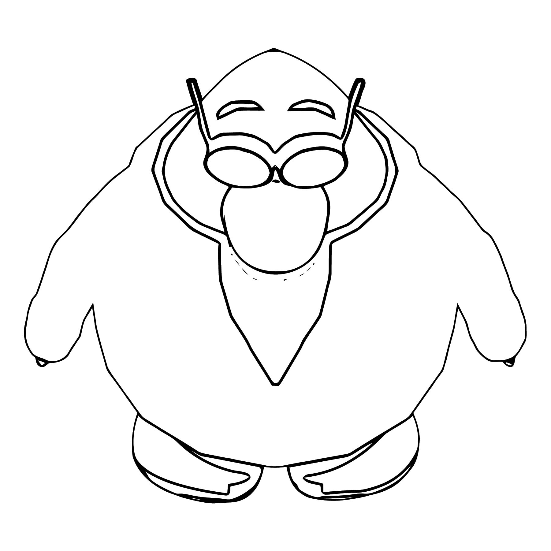 Gary In Game Coloring Page