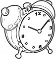 Just Alarm Clo Free Printable Ck Cartoonized Free Printable Coloring Page