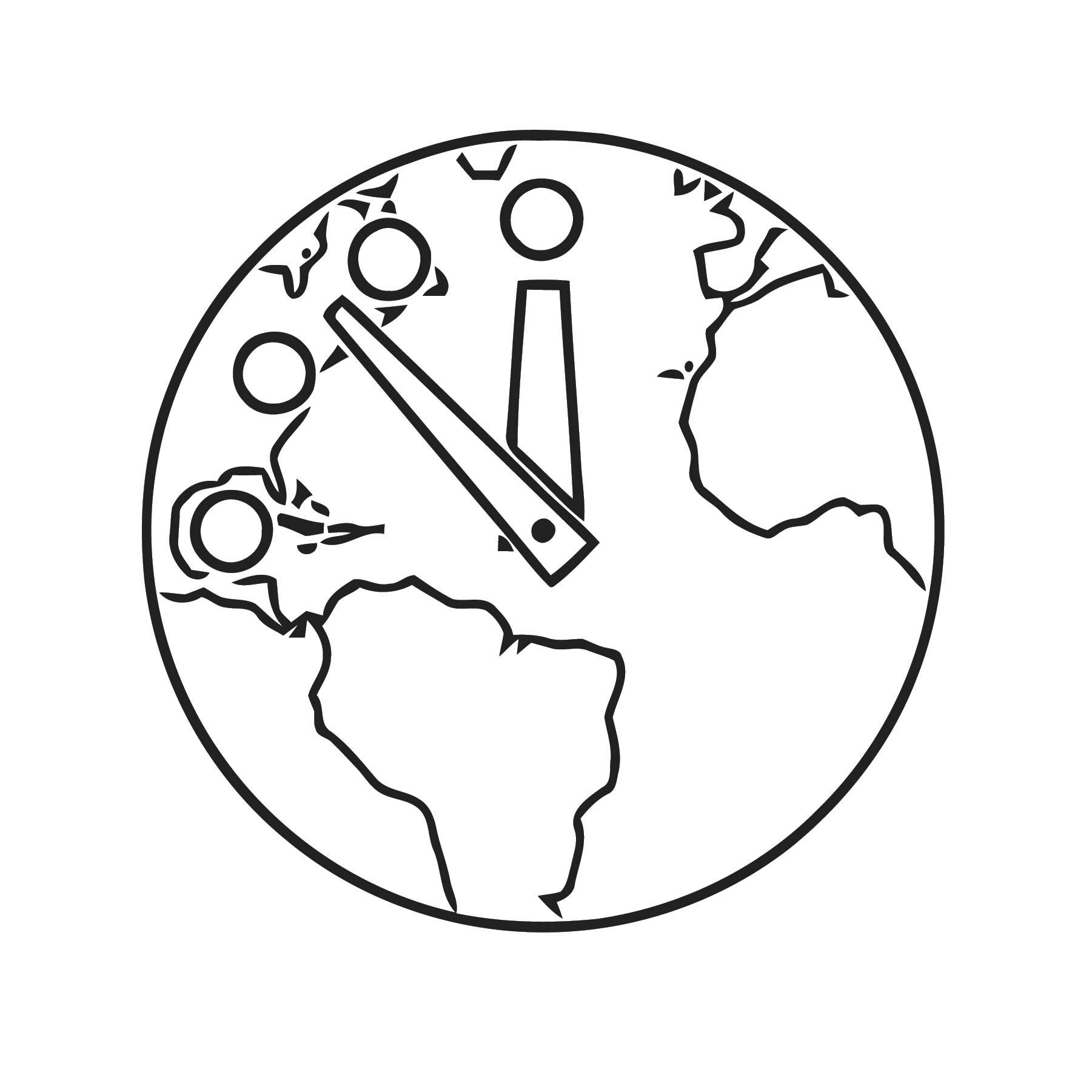 Orologio Apocalis Free Printable Se Cartoonized Free Printable Coloring Page
