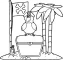 Parrot Coloring Page 114