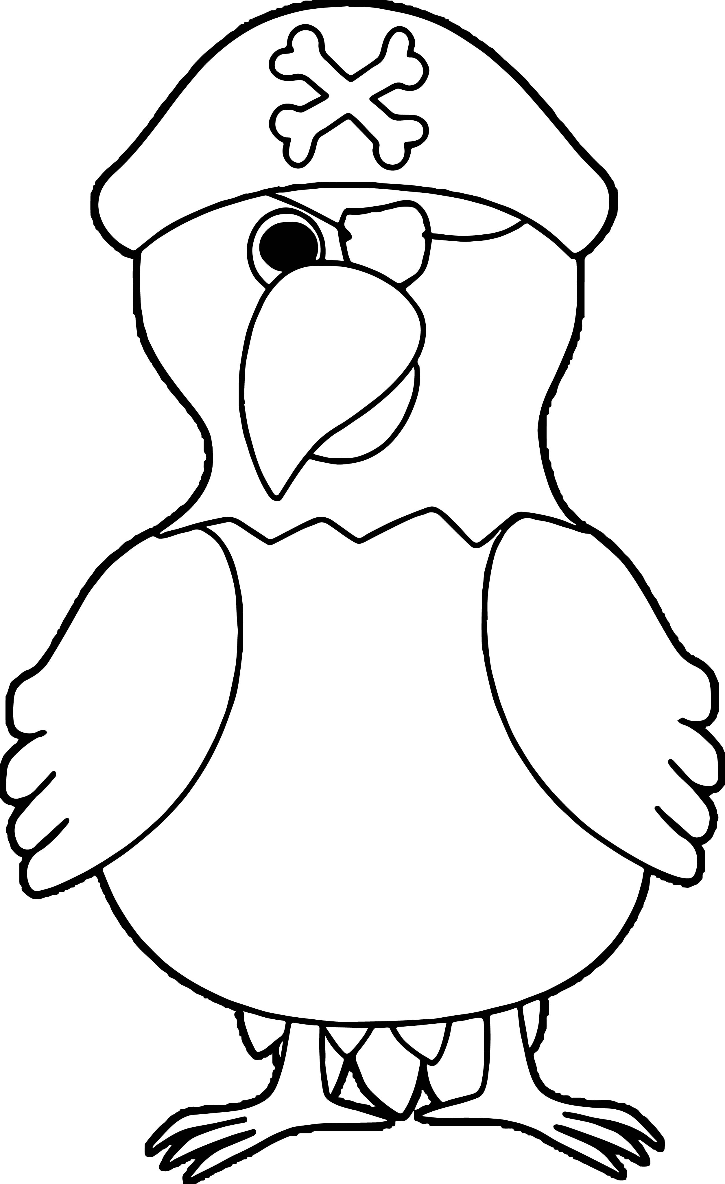 Parrot Coloring Page 116