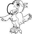 Parrot Coloring Page 117