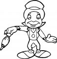 Pinocchio Jiminy Cricket 6 Coloring Page