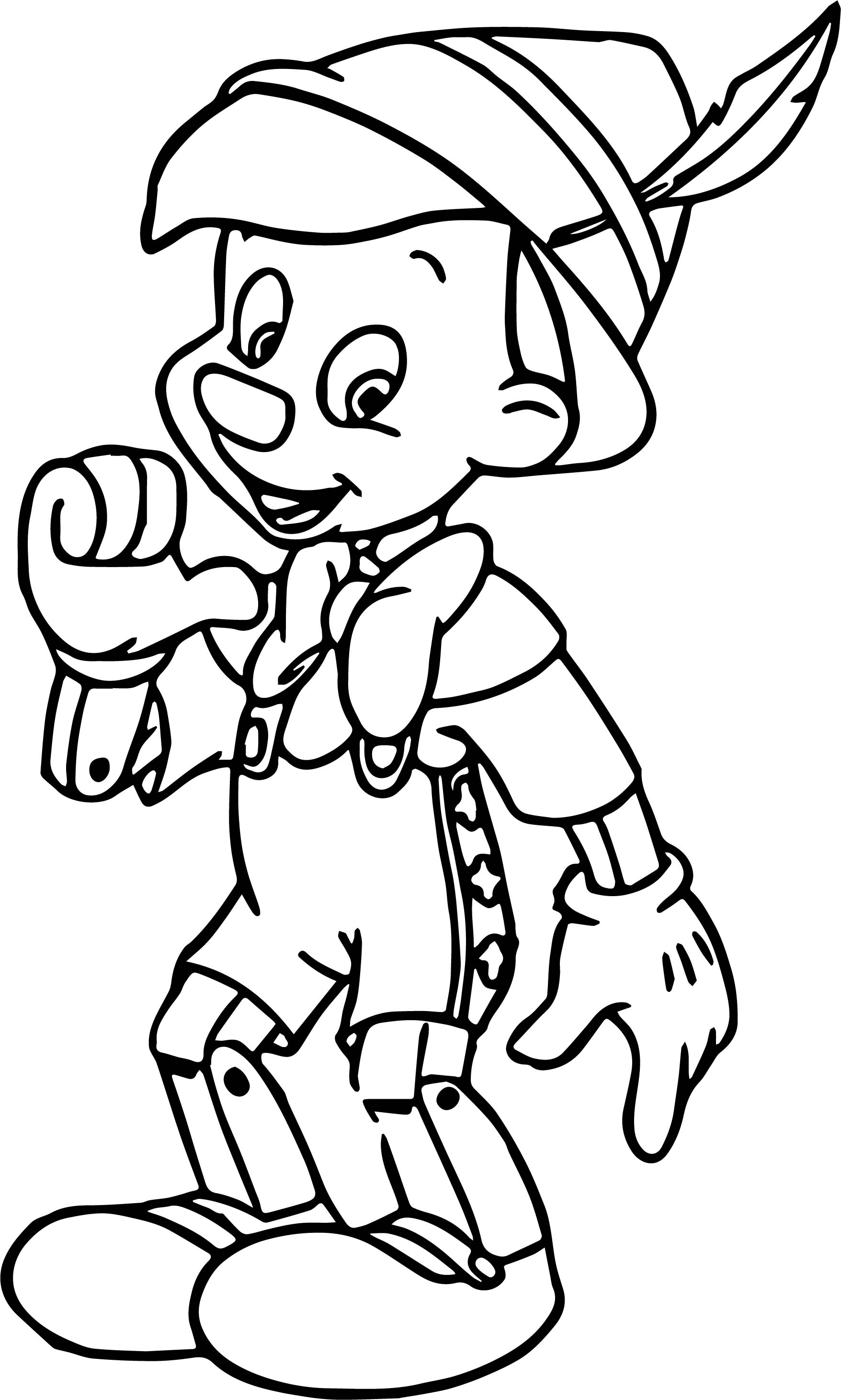 Pinocchio Me Coloring Pages