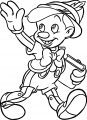 Pinocchio School Coloring Pages