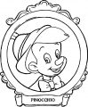 Pinocchio Table Picture Coloring Pages