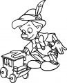 Pinocchio Toy Coloring Page