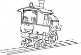 Piper Chuggington Coloring Page