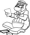 Reasons Club Penguin Coloring Page