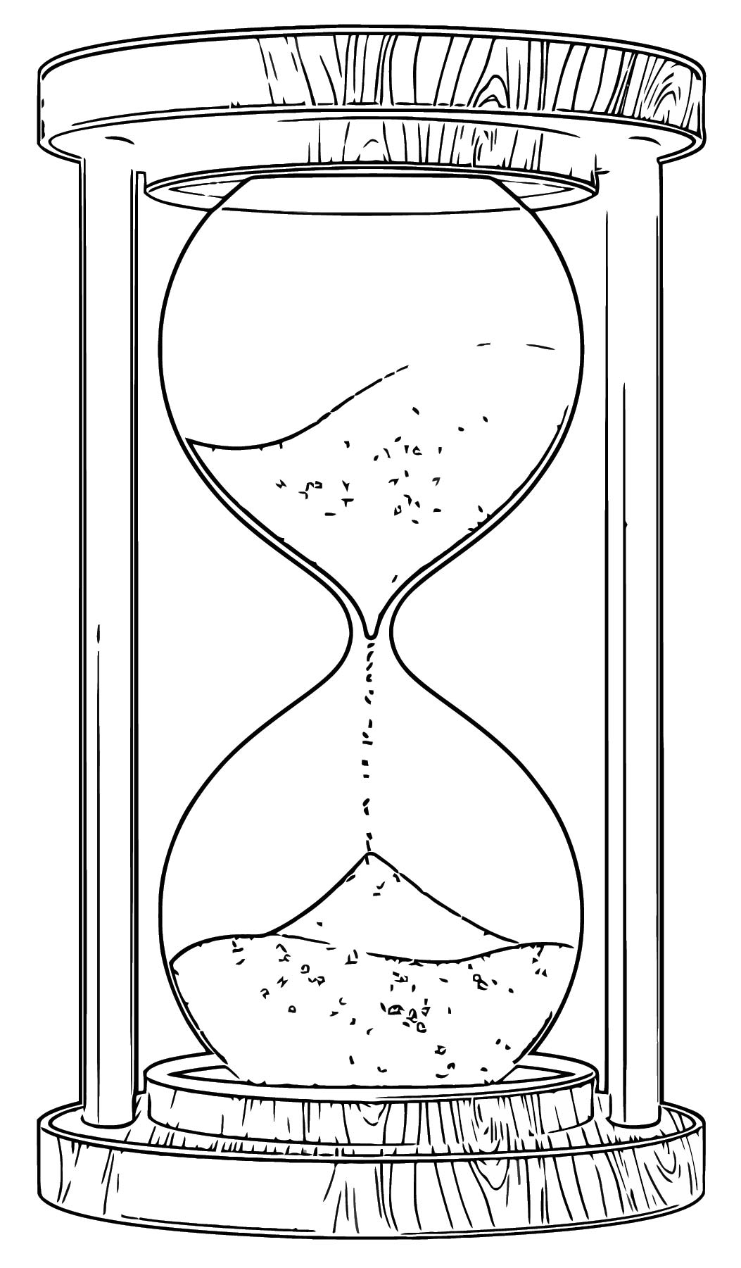 Sand Clock Png Clipart 11 Free Printable 37 Cartoonized Free Printable Coloring Page