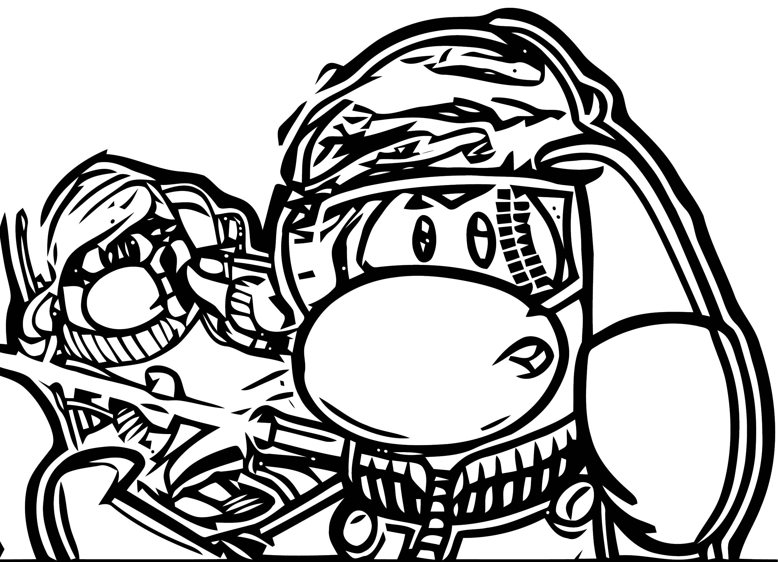 Save The Island Coloring Page