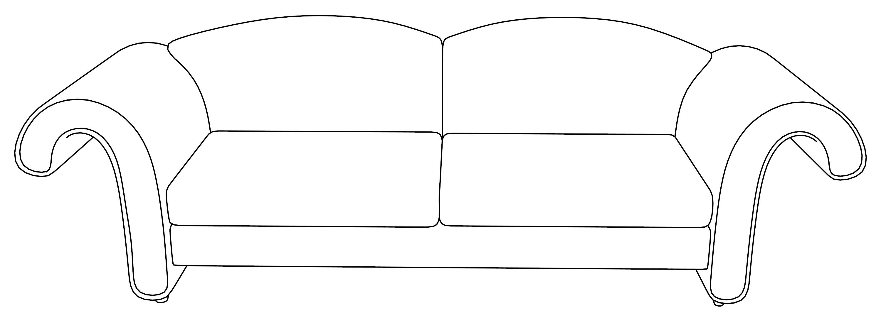 sofa coloring pages - photo#28