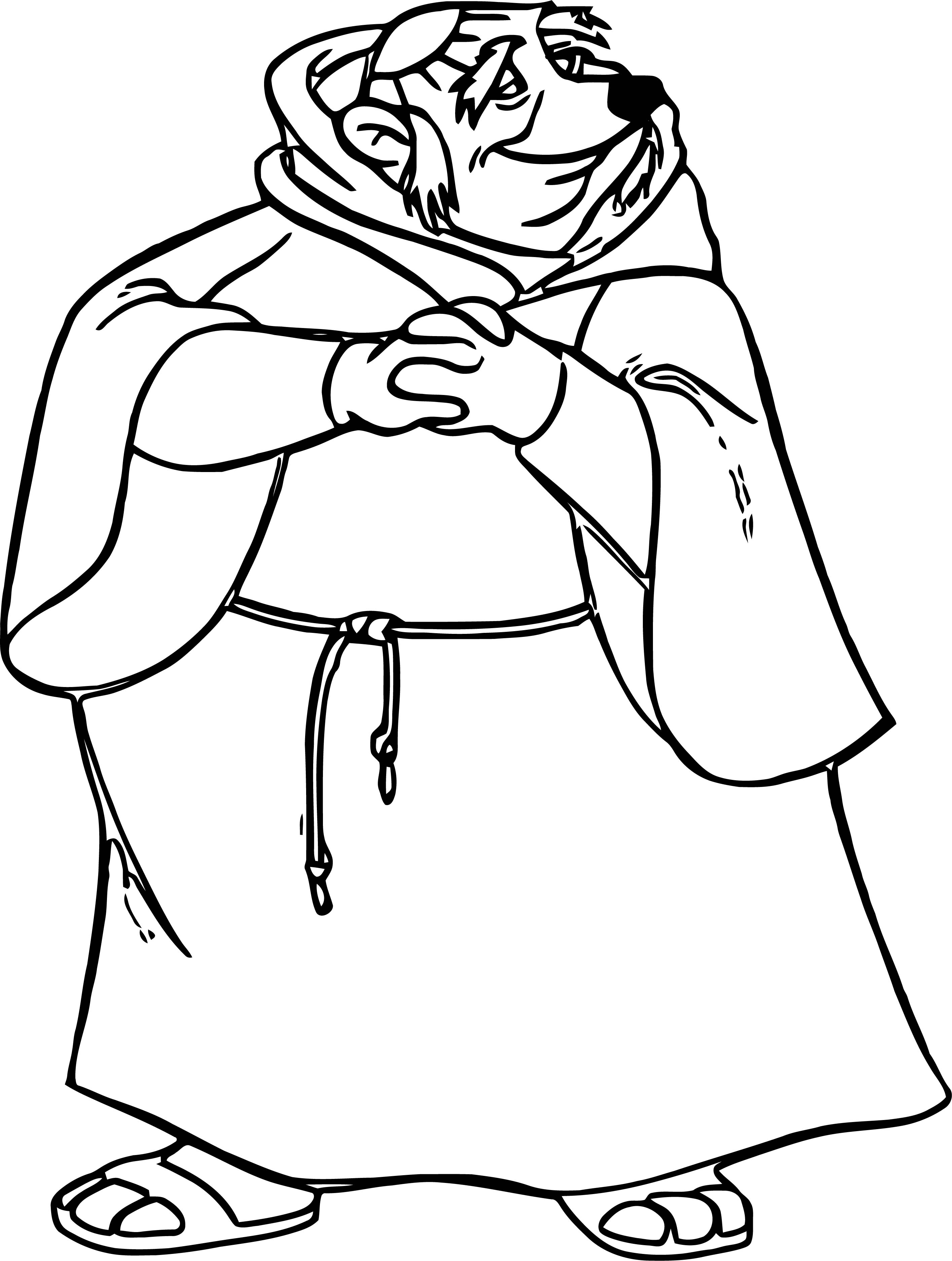 Tuck 2 Coloring Page