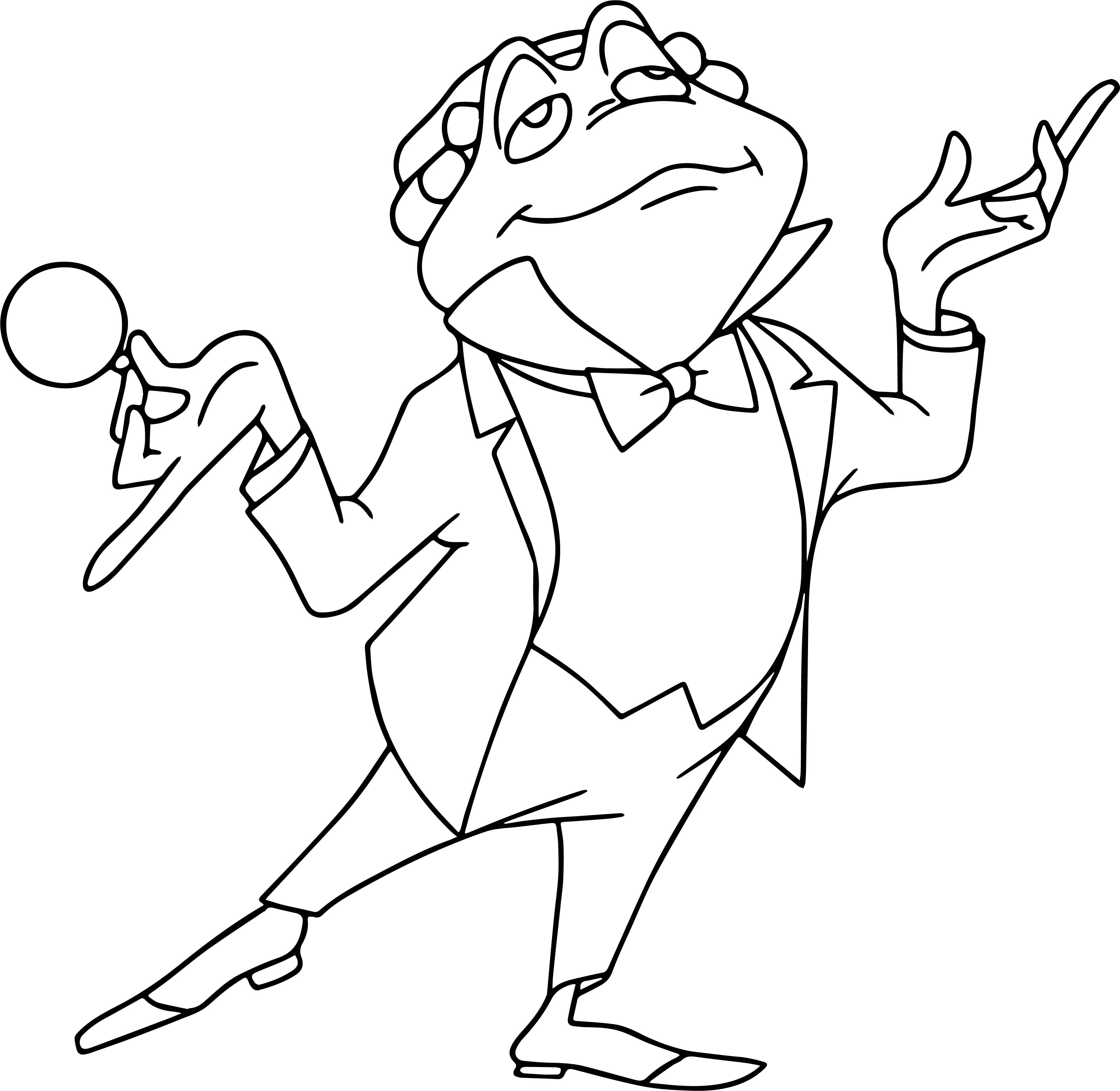 mrtoad coloring page