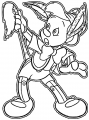 pinocchio donkey 2 coloring page cartoonized