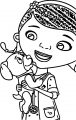 Doctor Mcstuffins Coloring Page