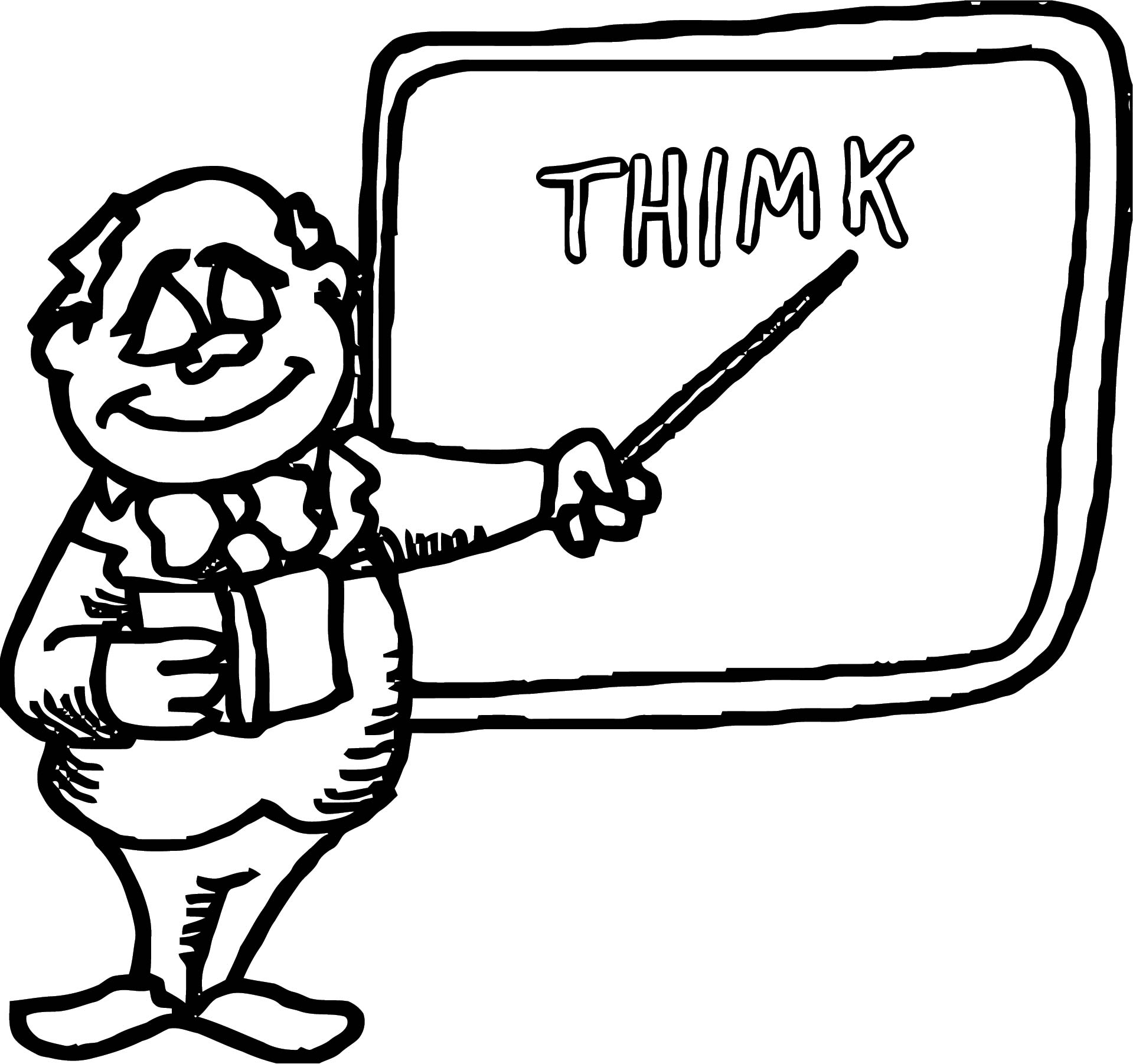 English Teacher We Coloring Page 080