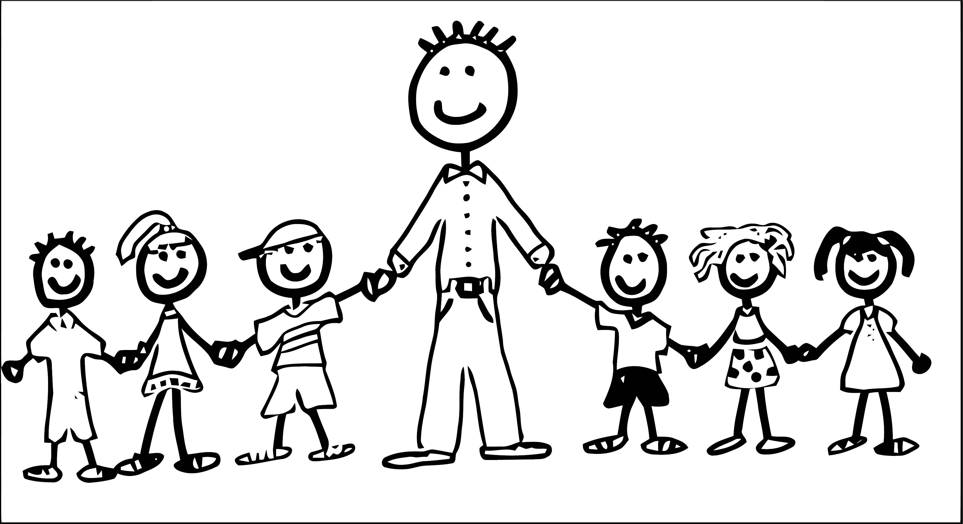 English Teacher We Coloring Page 086