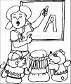 English Teacher We Coloring Page 103