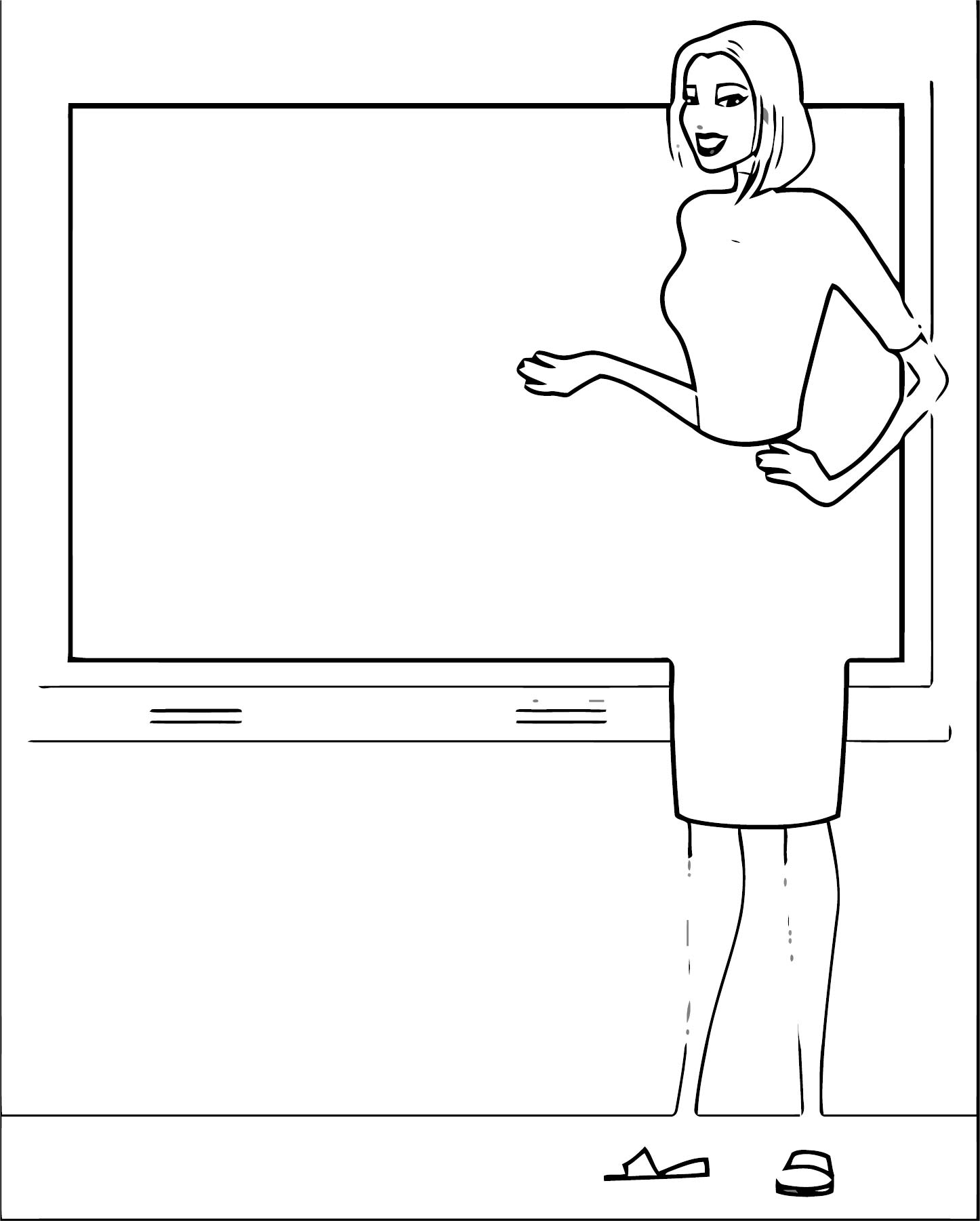 English Teacher We Coloring Page 109