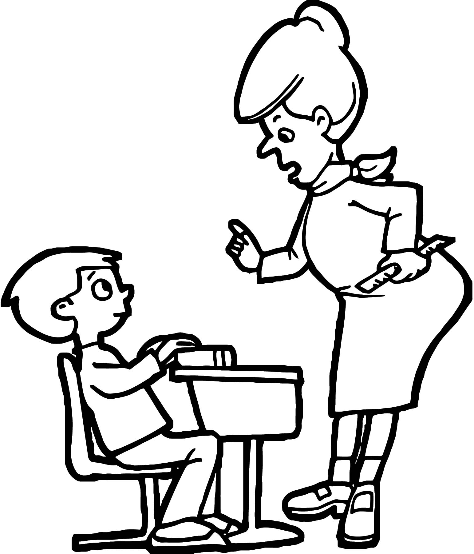 English Teacher We Coloring Page 117