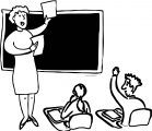 English Teacher We Coloring Page 126