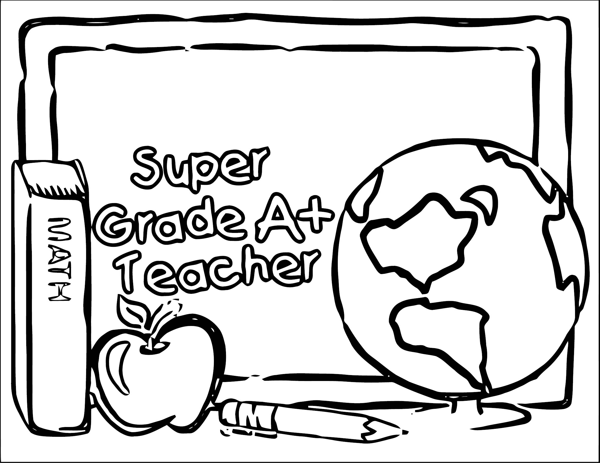 English Teacher We Coloring Page 133 | Wecoloringpage.com