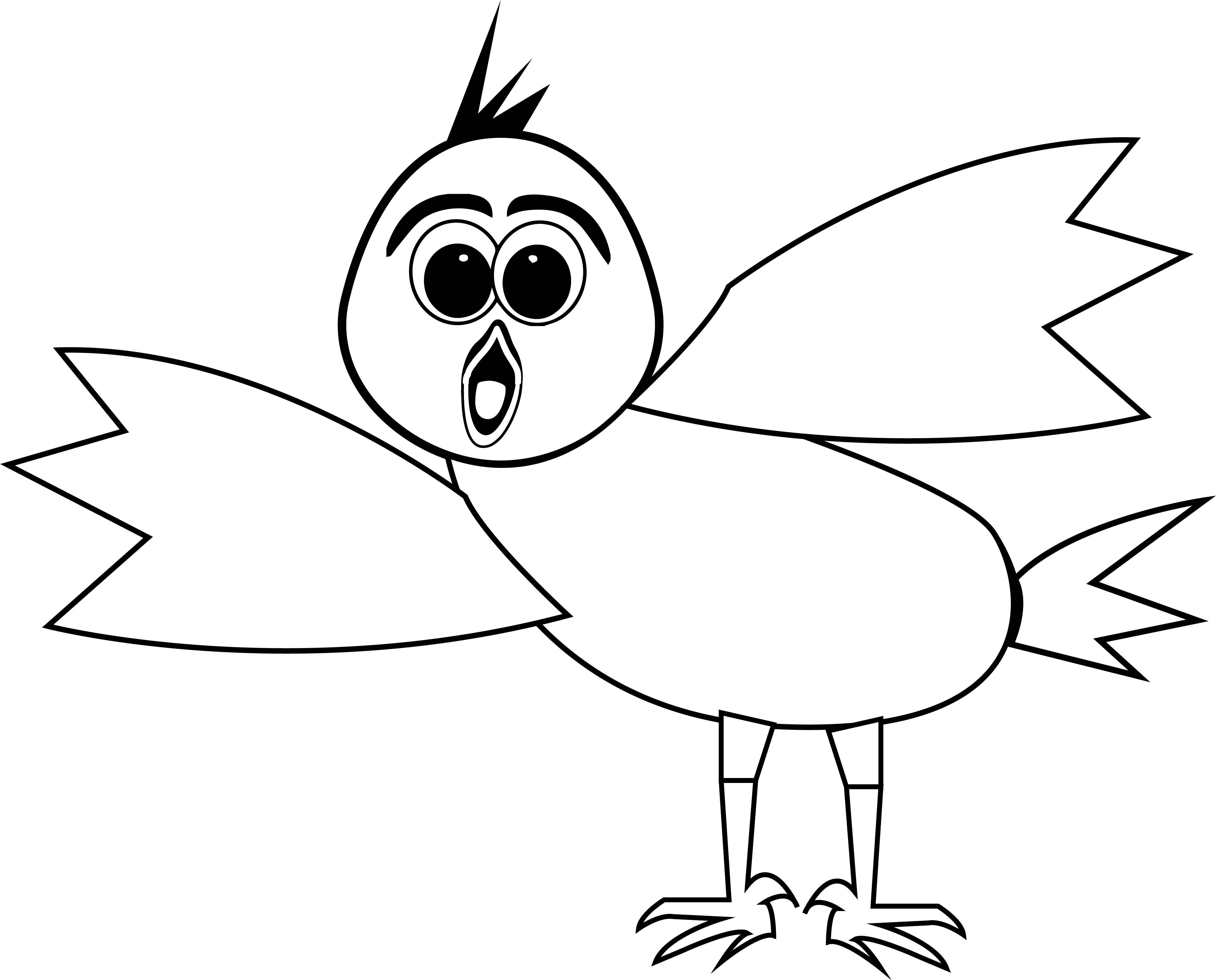 What This Bird Coloring Page