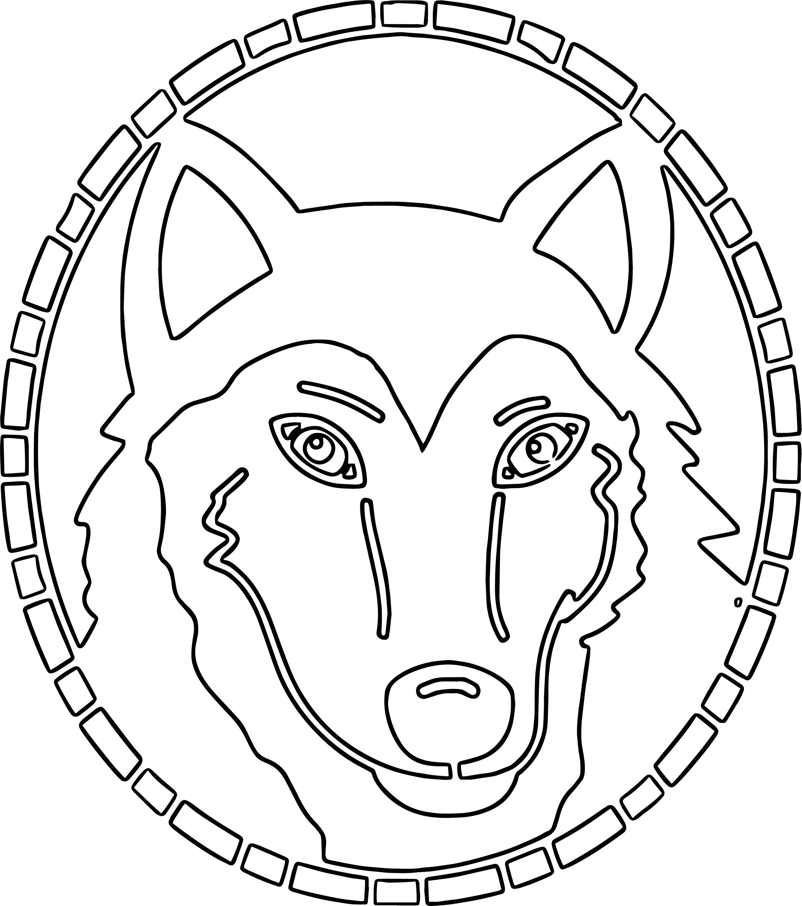 Alaskan Husky Coloring Page