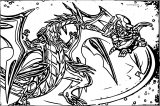 Bakugan Neo Dragonoid Coloring Page