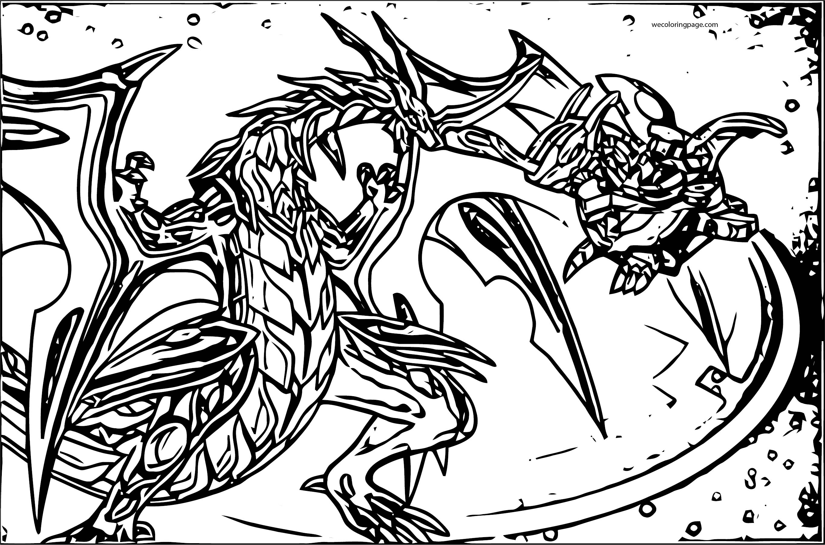 bakugan titanium dragonoid coloring pages - photo#6