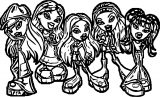 Bratz Coloring Page WeColoringPage 12