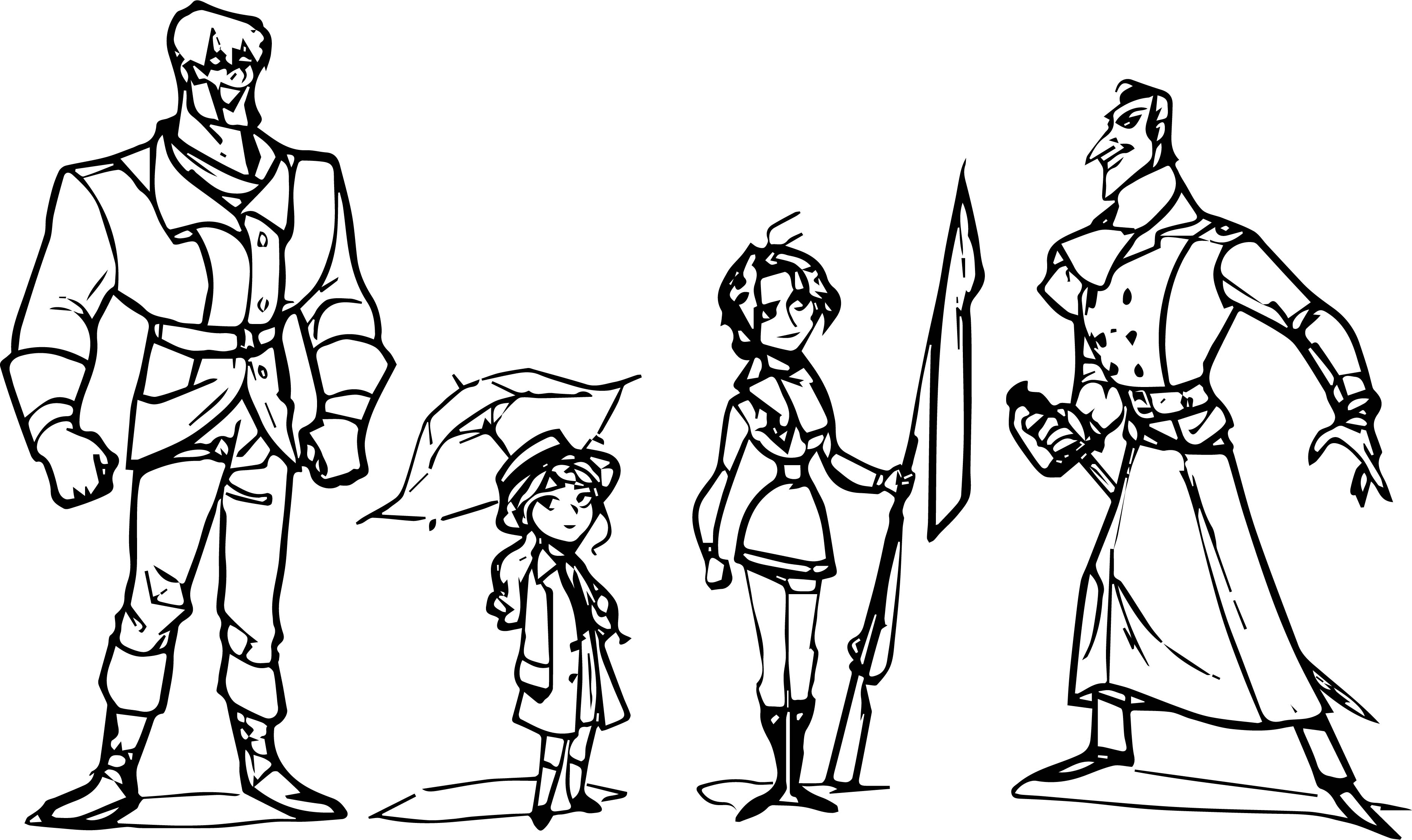 Characters Coloring Page WeColoringPage 60