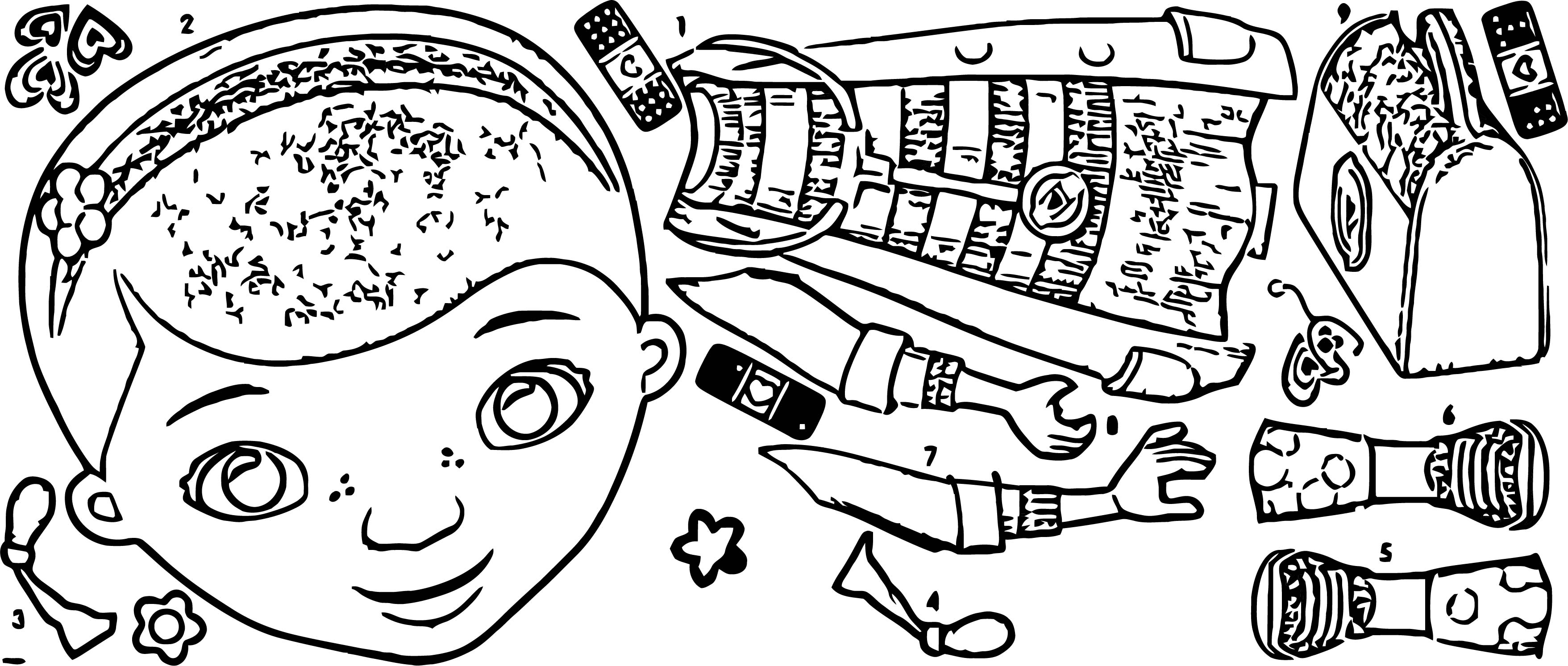 Doc McStuffins Giant Wall Decal Product Cartoonized Coloring Page