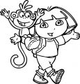 Dora The Explorer Coloring Page 55