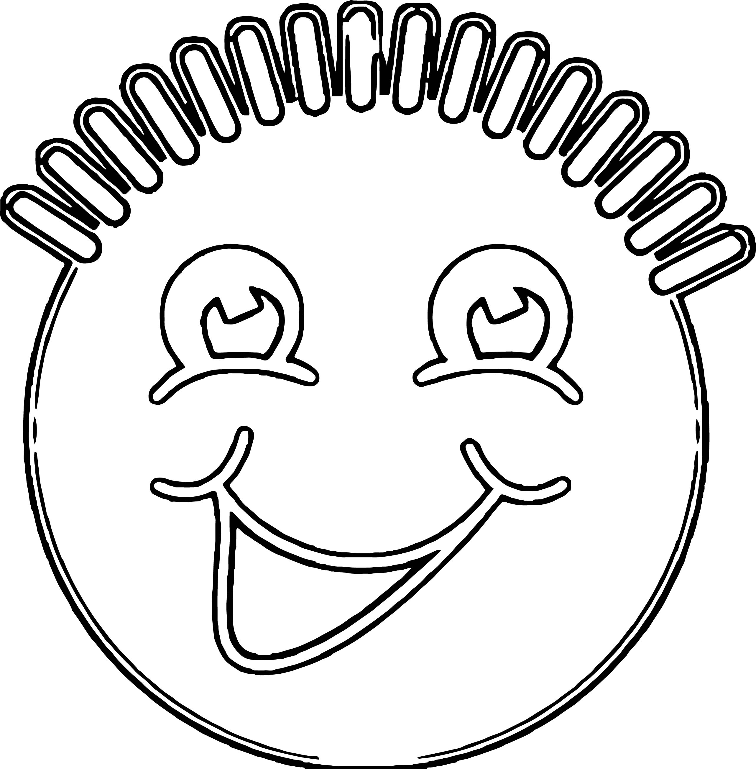 Face Happy Face Smiley Face Clip Art Cow Coloring Page 2