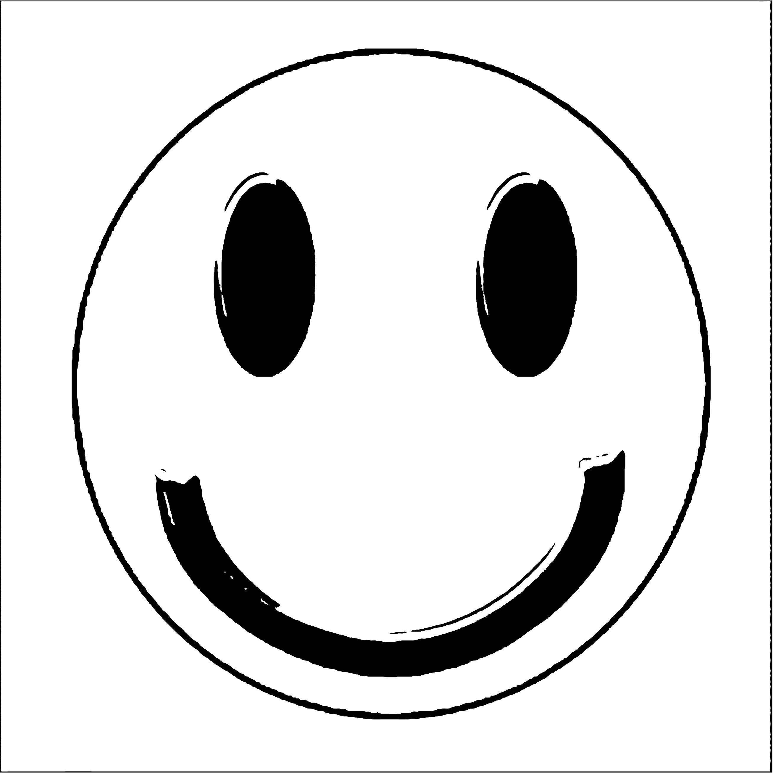 Face Happy Face Smiley Face Clip Art Vector Free Vector For Free 2 Coloring Page