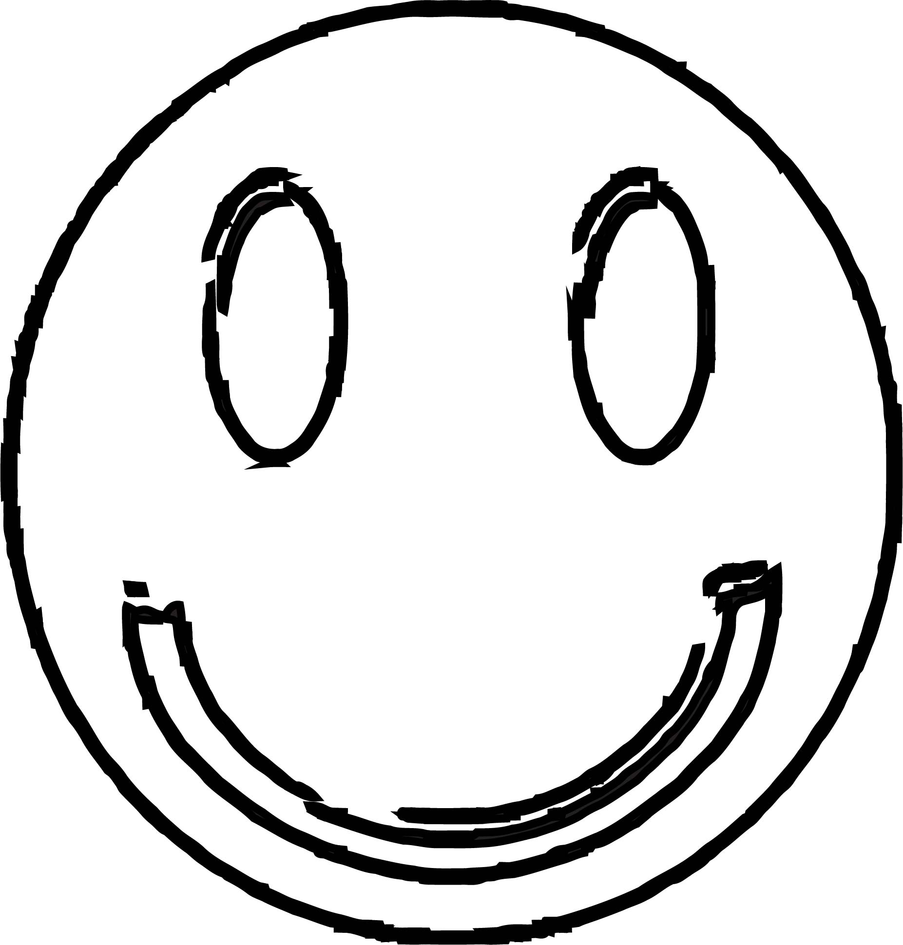 Face Happy Face Smiley Face Clip Art Vector Free Vector For Free Coloring Page