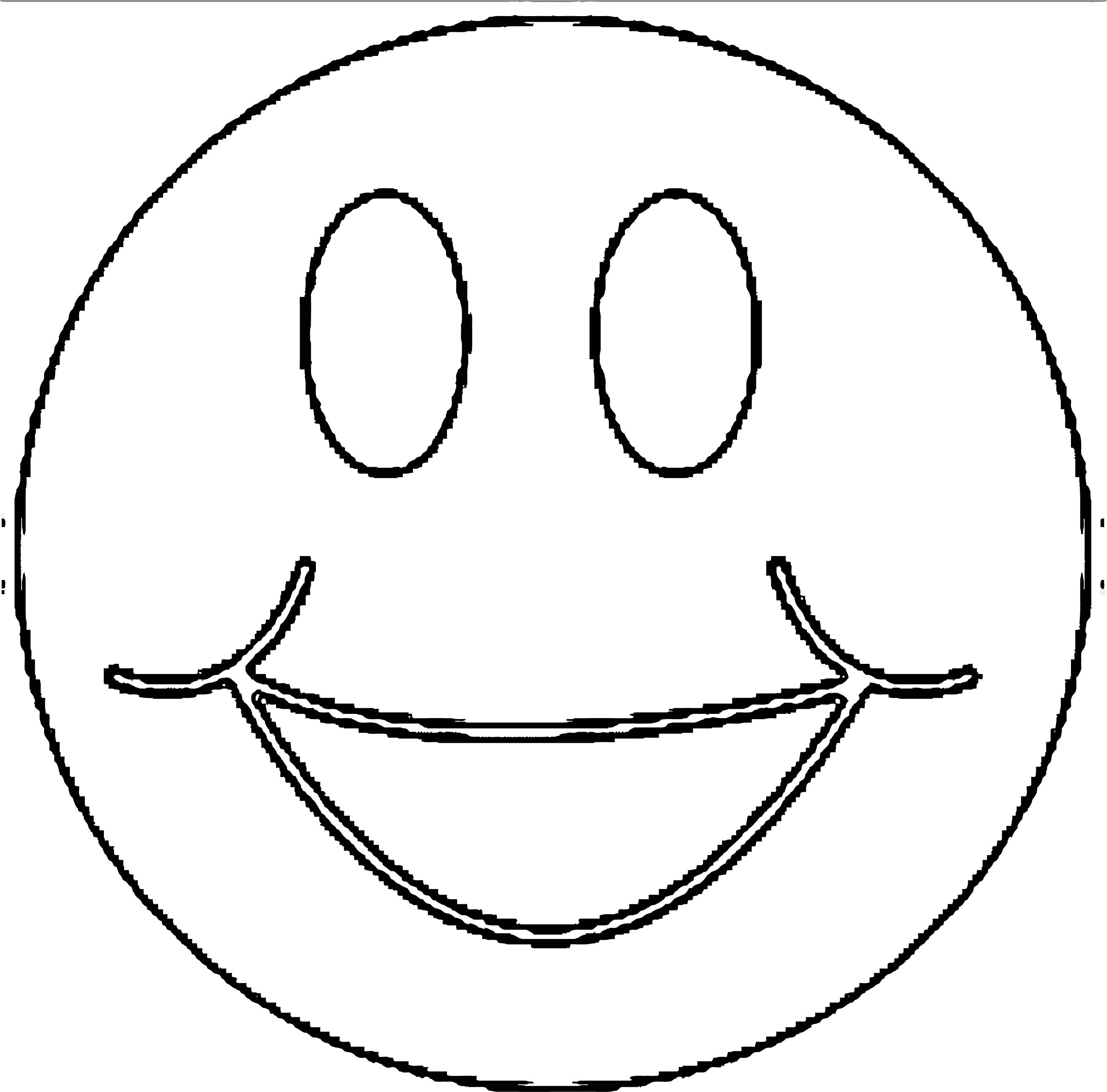Face Images Coloring Page 01