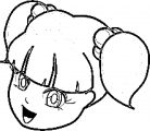 Face Images Coloring Page 04