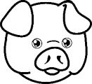 Face Images Coloring Page 08