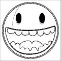 Face Images Coloring Page 09