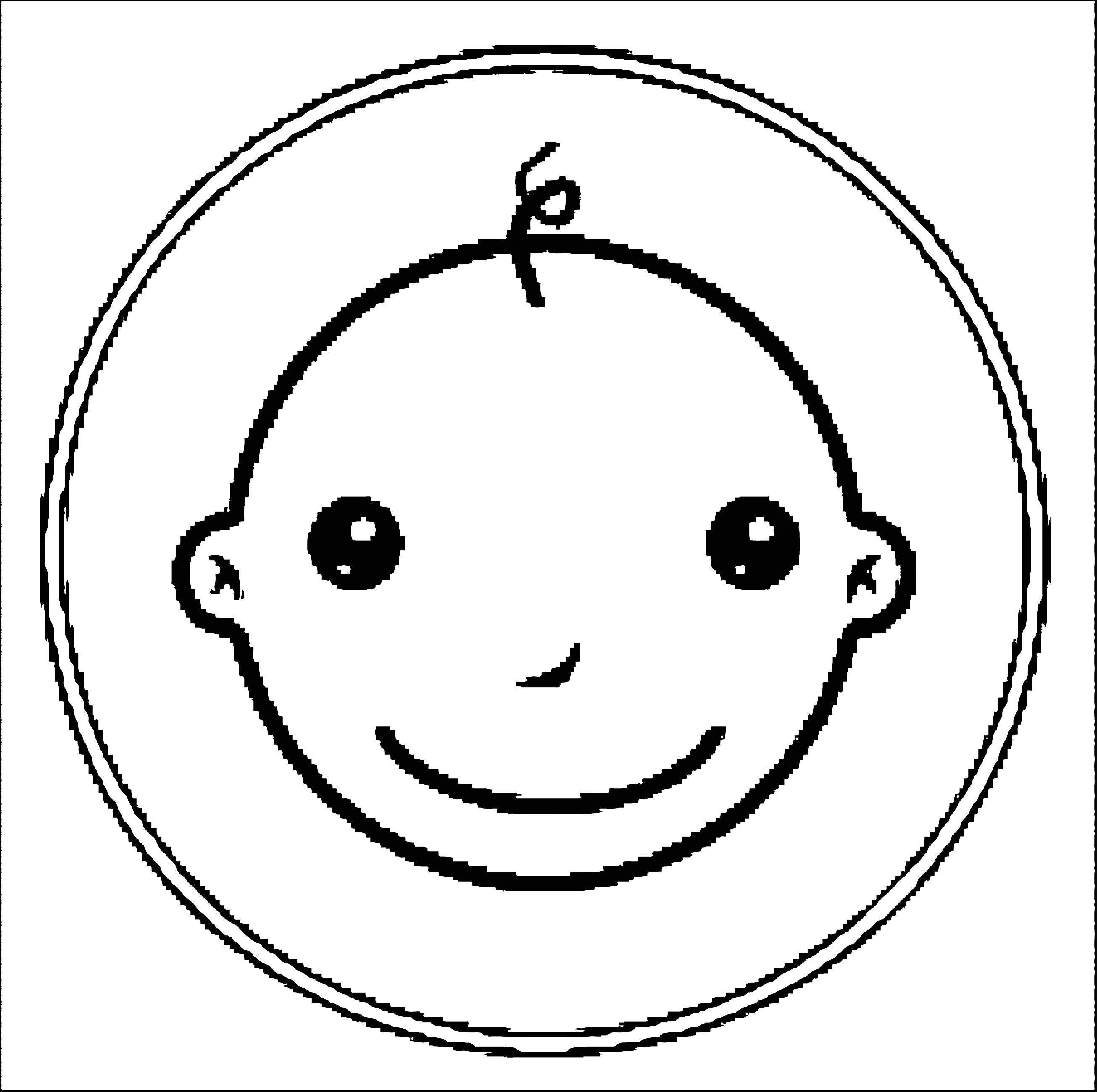 Face Images Coloring Page 16