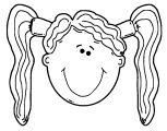 Face Images Coloring Page 24